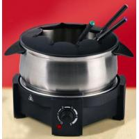 Buy cheap Wok Electric Stainless Steel Fondue Set from wholesalers