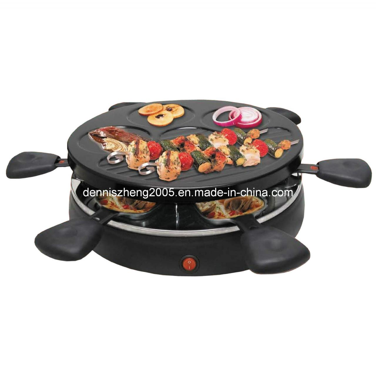 Buy cheap Electric Grill Electric 6-Person Raclette Grill, 6-Person Classic Party Grill from wholesalers