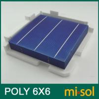 Buy cheap 4.25W POLY Cell 6x6 for DIY solar panel, polycrystalline cell, solar cell from wholesalers