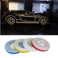 Car decoration 500cm*2cm Motorcycle Reflective Tape Stickers Car Styling Stickers