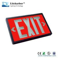 Buy cheap emergency exit light Lighted exit signs tritium self-illuminating no power from wholesalers