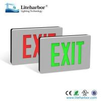 Buy cheap emergency exit light LED exit sign lighting Die Cast Aluminum housing 5w from wholesalers