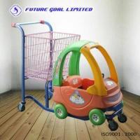 Buy cheap Children Toy Trolley / Supermarket Shopping Trolley from wholesalers
