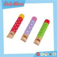 2015 Hot sale wooden whistle for KIDS OEM or ODM order