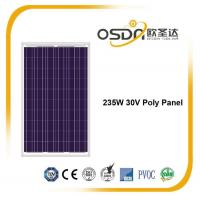 Buy cheap Poly Panel 235w 30v Poly panel from wholesalers