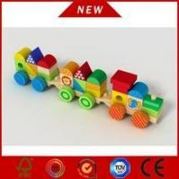 Buy cheap 2016 Wooden Popular Block Train Letter Block train from wholesalers