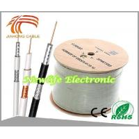Buy cheap 75ohm RG6 Coaxial Cable CCS/60% Coverage 1000FT product