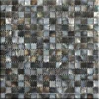 Black Mother of Pearl Shell Mosaic Tile for Wall Tile