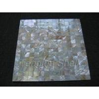 Buy cheap MOP pearl shell mosaic white river mosaic mosaic designs from wholesalers