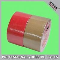 Buy cheap High adhesive carton sealing and masking cloth duct tape product