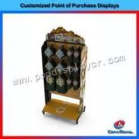 Buy cheap Hot sale 2 side floor metal boxing glove display case from wholesalers