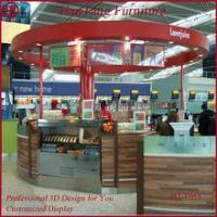 Buy cheap Marble counter top mall dish order food kiosk product