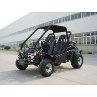 Blue 150CC Adult Racing Go Kart Buggy KD 150FS , 2 Seat And Chain Drive