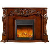 Buy cheap Blender Electrical Home Decoration Classic Solid Wood Fireplaces With LED Light from wholesalers