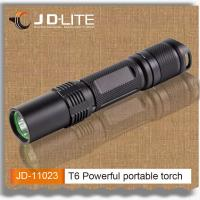 Buy cheap T6 800lumens led strong light flashlight torch light rechargeable battery from wholesalers