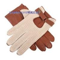 Buy cheap FL-G2101-3420fashion leather knitting gloves from wholesalers