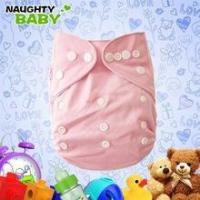 Buy cheap Breathable washable PUL Plain color baby Cloth Diaper with pocket from wholesalers