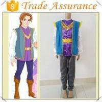 eco-friendly material prince costume for boys