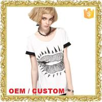 Buy cheap New coming combed cotton summer women fashion clothing from wholesalers