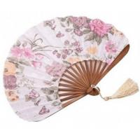 Buy cheap Crafts Bamboo fan from wholesalers