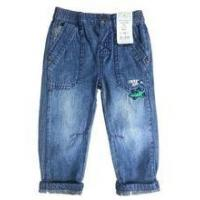 Buy cheap baby jeans with hem depth boys trousers denim jeans boys fashion blue jeans from wholesalers