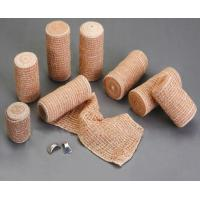 Buy cheap Breathable Skin Color Crepe Elastic Bandage With Velcro from wholesalers