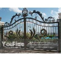 Buy cheap High Quality Modern Entrance Cast Iron Gate from wholesalers