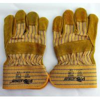 Buy cheap Split Cow Leather Gloves / Working Gloves / Rigger Gloves / Driving Gloves / Farming Gloves from wholesalers