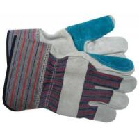 Buy cheap Split Cow Leather Gloves Mechanic Work Gloves product