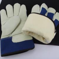 Buy cheap Full Lining For Industry Use To Keep Hands Warm Winter Cow Best Gloves Lining Leather Gloves from wholesalers