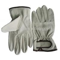 Buy cheap Quality Grain Sheep Skin Leather With Good Price Truck Leather Driver Working Gloves from wholesalers