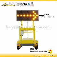Buy cheap HX-ST01A Solar Traffic Arrow Board Trailer from wholesalers