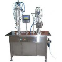 Buy cheap VAB Program-controlled Bag On Valve Aerosol Filling Machine from wholesalers