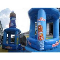 Advertising Inflatable Booth With Bottles Details