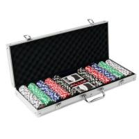 Buy cheap 500pcs Poker Set in Aluminum Case from wholesalers