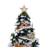 Buy cheap Thomas Kinkade Village Christmas Artificial Tabletop Christmas Tree by The Bradford Exchange from wholesalers