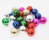 Buy cheap zhumutang Multicolor Christmas Ball Decorations Exquisite Colorful Balls Ornaments (80mm/3.15in) from wholesalers