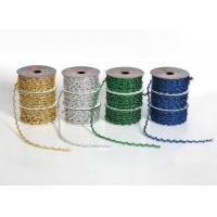 Buy cheap Color Ribbon rolls metallic-elastic-cord-rol from wholesalers