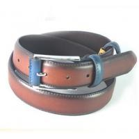 Buy cheap 2015 Color Matched Oily Genuine Leather Belt For Men, Mans Cow Hide Belt from wholesalers