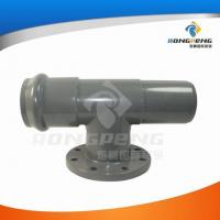 Buy cheap Plastic fittings and pipes Reducing tee socket, spigot & flange from wholesalers
