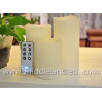Buy cheap 3PC Set 8Key Remote Control Melted Edge LED Candles from wholesalers