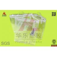 Buy cheap clear eva ziplock bag with slider side gusset bag from wholesalers