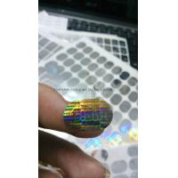 Buy cheap silver 3D Debit master hologram sticker from wholesalers