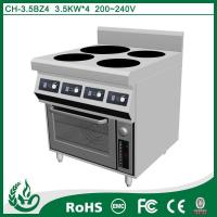 Buy cheap 4 burner induction cooker with freestanding design from wholesalers