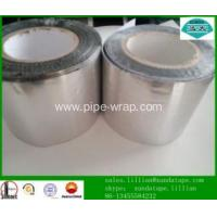 China Anticorrosion Pipe Wrap Tape Aluminium bitumen adhesive tape on sale
