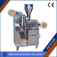 Buy cheap Tea bag with string and tag packing machine from wholesalers
