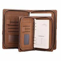 Buy cheap Max Deal Black Business A4 Folder Leather Portfolio Clipboard PU Leather Organizer from wholesalers