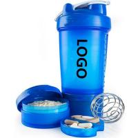 Buy cheap Week's Hottest Quotations 600ml Protein Bottle Blender Shaker Cup Gym Fit Fitness from wholesalers