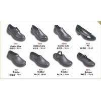 9801 non-slip shoes Chef shoes kitchen work shoes Calf Rubber PU work shoes safety