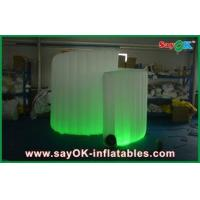 Buy cheap Spiral Advertiaing Inflatable Photobooth White Portable With Oxford Cloth product